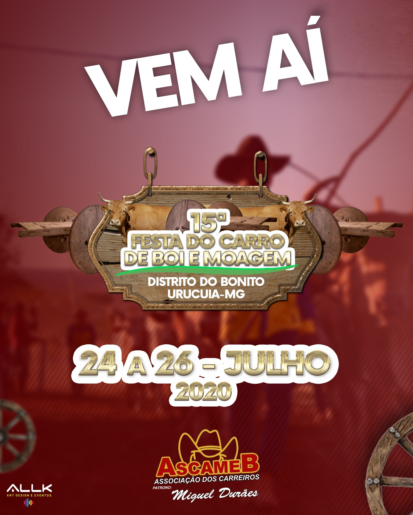 15ª FESTA DO CARRO DE BOI E MOAGEM