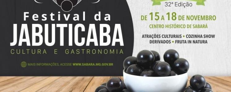 32º FESTIVAL DA JABUTICABA